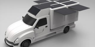 Electric truck/utility vehicle